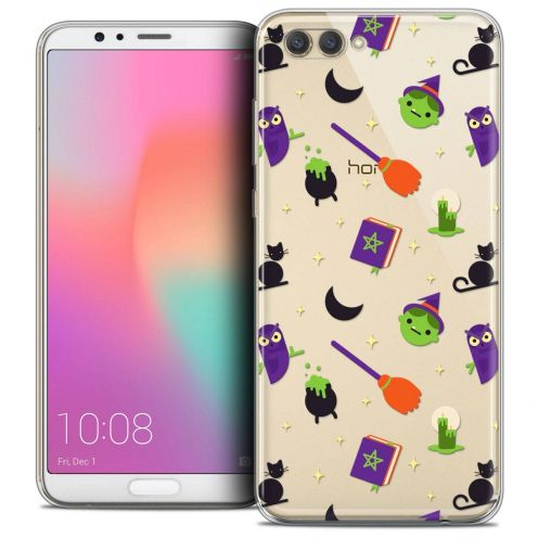 "Coque Crystal Gel Honor View 10 / V10 (6"") Extra Fine Halloween - Witch Potter"
