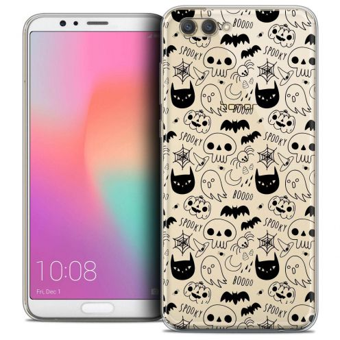 "Coque Crystal Gel Honor View 10 / V10 (6"") Extra Fine Halloween - Spooky"