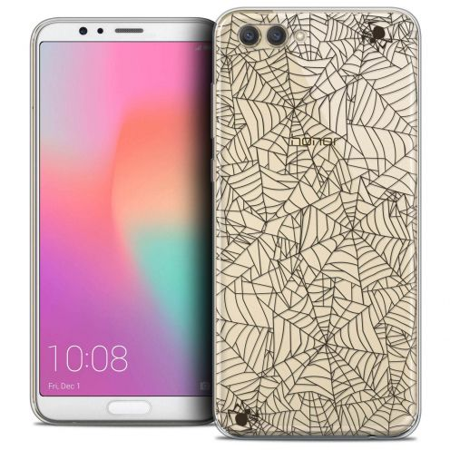 "Coque Crystal Gel Honor View 10 / V10 (6"") Extra Fine Halloween - Spooky Spider"