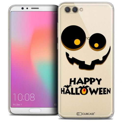 "Coque Crystal Gel Honor View 10 / V10 (6"") Extra Fine Halloween - Happy"