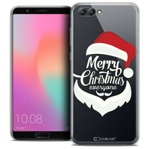 "Coque Crystal Gel Honor View 10 / V10 (6"") Extra Fine Noël 2017 - Merry Everyone"