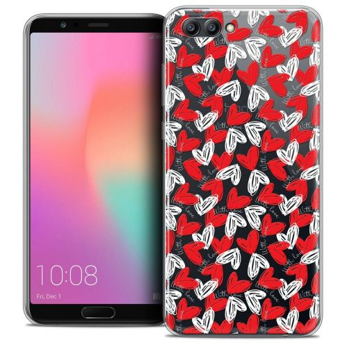 "Coque Crystal Gel Honor View 10 / V10 (6"") Extra Fine Love - With Love"