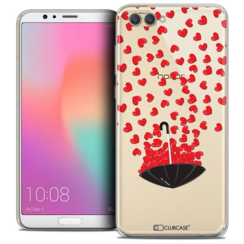 "Coque Crystal Gel Honor View 10 / V10 (6"") Extra Fine Love - Parapluie d'Amour"