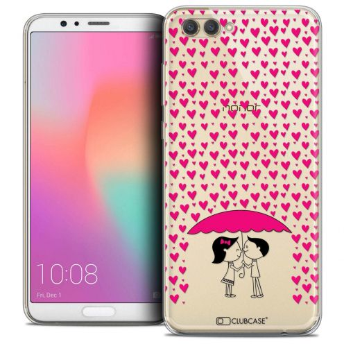 "Coque Crystal Gel Honor View 10 / V10 (6"") Extra Fine Love - Pluie d'Amour"