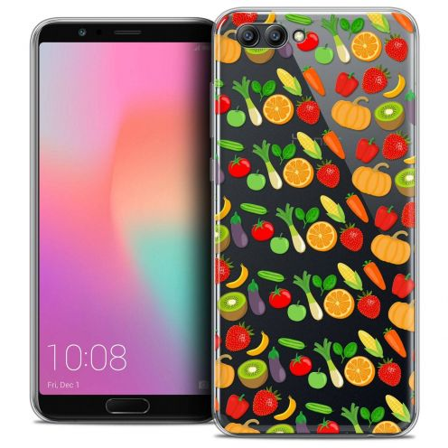 "Coque Crystal Gel Honor View 10 / V10 (6"") Extra Fine Foodie - Healthy"