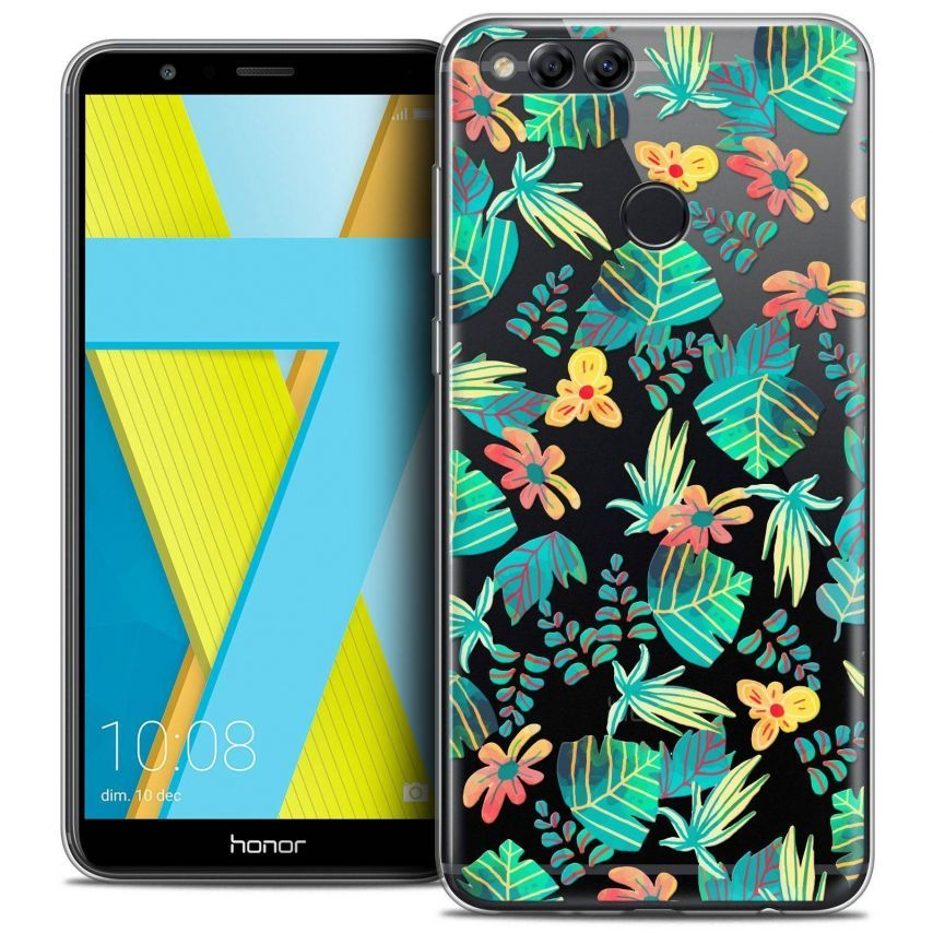 """Coque Crystal Gel Honor 7X (5.9"""") Extra Fine Spring - Tropical"""
