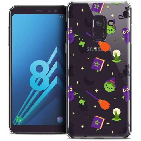 """Coque Crystal Gel Samsung Galaxy A8 (2018) A530 (5.6"""") Extra Fine Halloween - Witch Potter"""