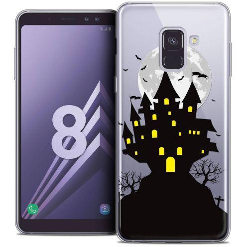 """Coque Crystal Gel Samsung Galaxy A8 (2018) A530 (5.6"""") Extra Fine Halloween - Castle Scream"""