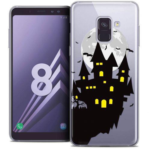 """Coque Crystal Gel Samsung Galaxy A8 (2018) A530 (5.6"""") Extra Fine Halloween - Castle Dream"""