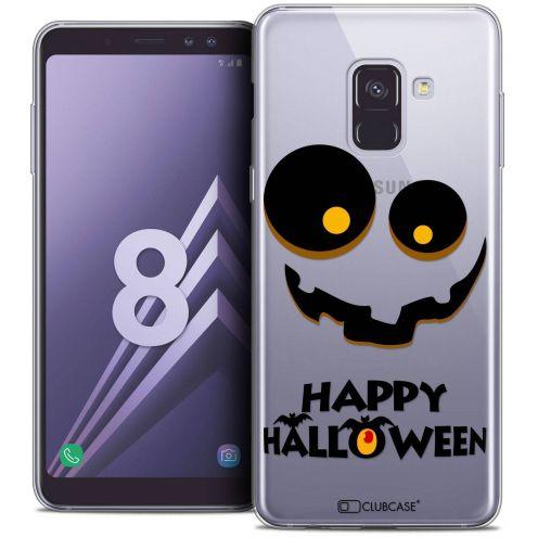 """Coque Crystal Gel Samsung Galaxy A8 (2018) A530 (5.6"""") Extra Fine Halloween - Happy"""