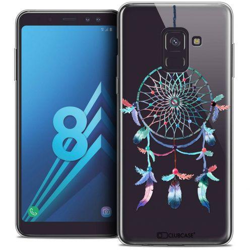 """Coque Crystal Gel Samsung Galaxy A8 (2018) A530 (5.6"""") Extra Fine Dreamy - Attrape Rêves Rainbow"""