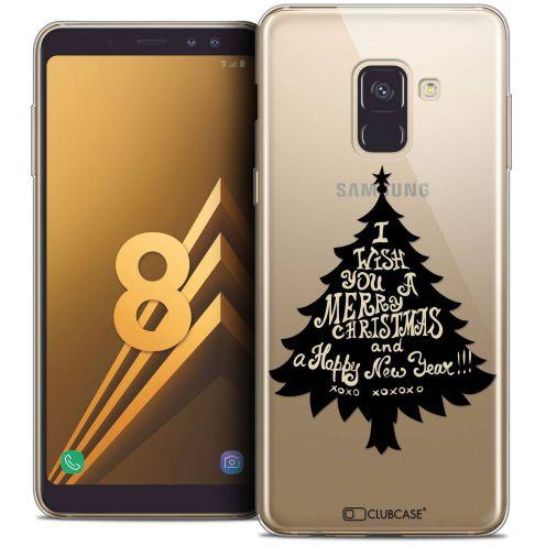 """Coque Crystal Gel Samsung Galaxy A8 (2018) A530 (5.6"""") Extra Fine Noël 2017 - XOXO Tree"""