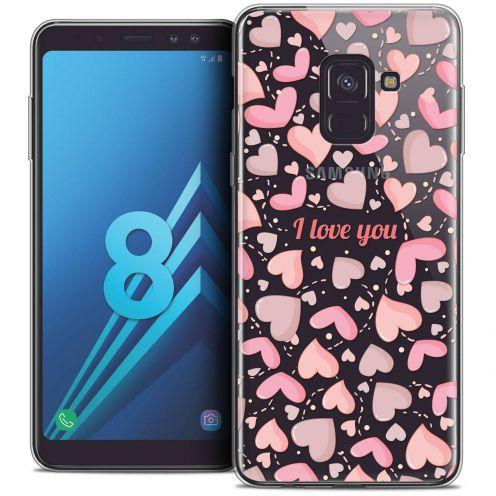 """Coque Crystal Gel Samsung Galaxy A8 (2018) A530 (5.6"""") Extra Fine Love - I Love You"""