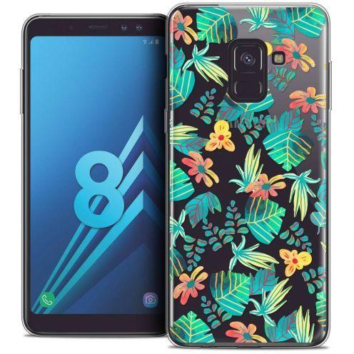 """Coque Crystal Gel Samsung Galaxy A8 (2018) A530 (5.6"""") Extra Fine Spring - Tropical"""