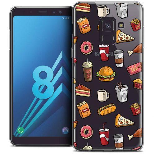 """Coque Crystal Gel Samsung Galaxy A8 (2018) A530 (5.6"""") Extra Fine Foodie - Fast Food"""