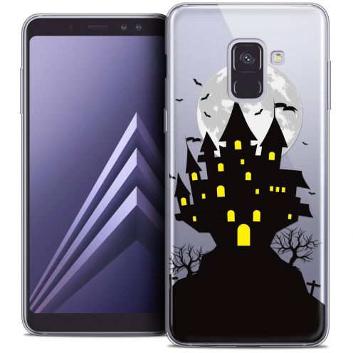 "Coque Crystal Gel Samsung Galaxy A8+ (2018) A730 (6.0"") Extra Fine Halloween - Castle Scream"