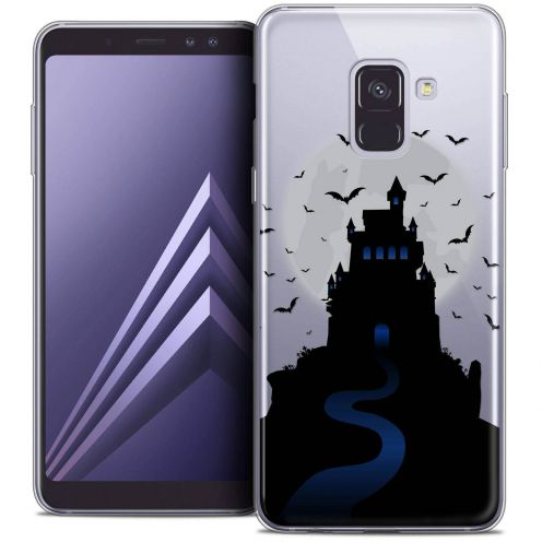 "Coque Crystal Gel Samsung Galaxy A8+ (2018) A730 (6.0"") Extra Fine Halloween - Castle Nightmare"