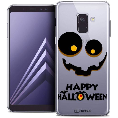 "Coque Crystal Gel Samsung Galaxy A8+ (2018) A730 (6.0"") Extra Fine Halloween - Happy"