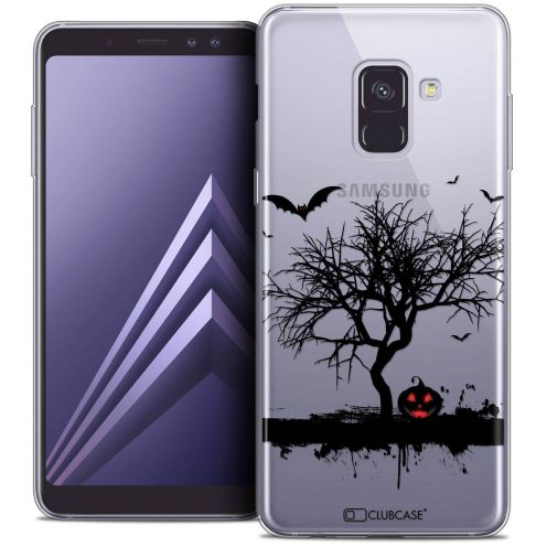 "Coque Crystal Gel Samsung Galaxy A8+ (2018) A730 (6.0"") Extra Fine Halloween - Devil's Tree"