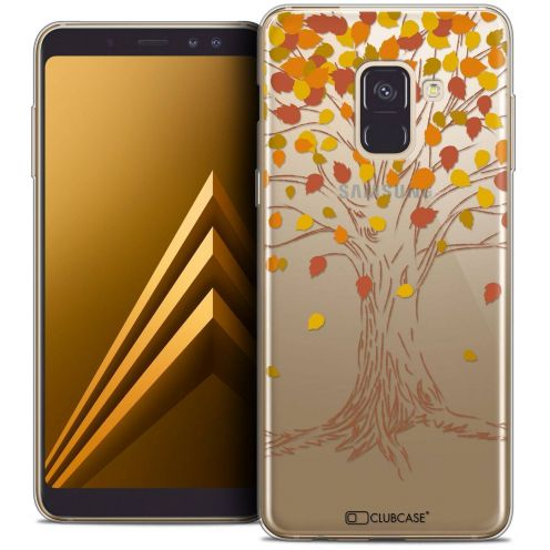 "Coque Crystal Gel Samsung Galaxy A8+ (2018) A730 (6.0"") Extra Fine Autumn 16 - Tree"