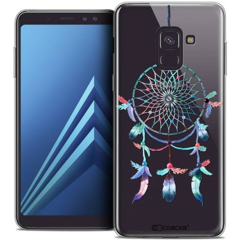 "Coque Crystal Gel Samsung Galaxy A8+ (2018) A730 (6.0"") Extra Fine Dreamy - Attrape Rêves Rainbow"