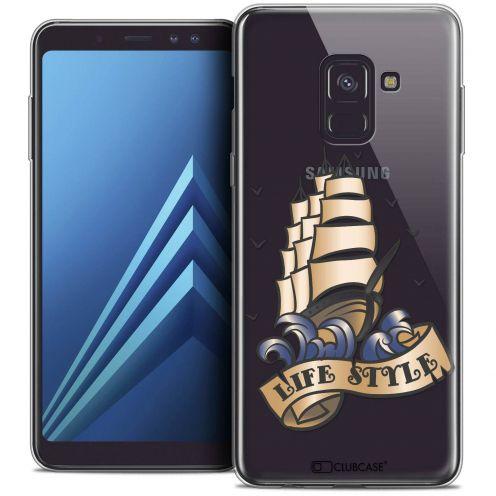 "Carcasa Crystal Gel Extra Fina Samsung Galaxy A8+ (2018) A730 (6.0"") Tatoo Lover Life Style"