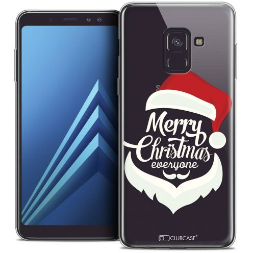 "Coque Crystal Gel Samsung Galaxy A8+ (2018) A730 (6.0"") Extra Fine Noël 2017 - Merry Everyone"