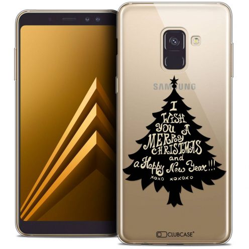 "Coque Crystal Gel Samsung Galaxy A8+ (2018) A730 (6.0"") Extra Fine Noël 2017 - XOXO Tree"