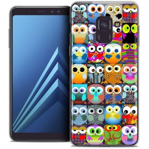 "Coque Crystal Gel Samsung Galaxy A8+ (2018) A730 (6.0"") Extra Fine Claude - Hibous"