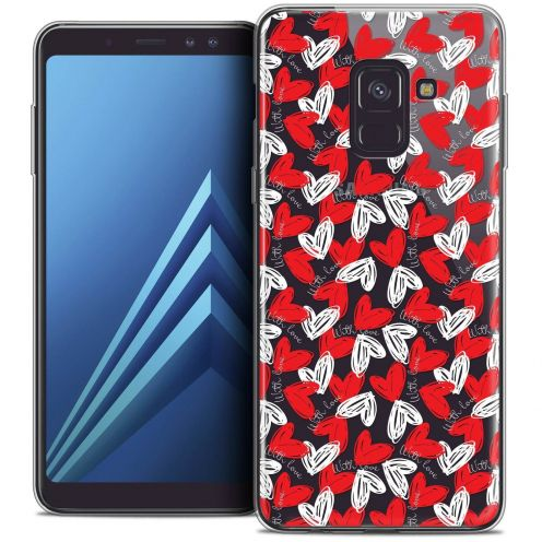 "Coque Crystal Gel Samsung Galaxy A8+ (2018) A730 (6.0"") Extra Fine Love - With Love"