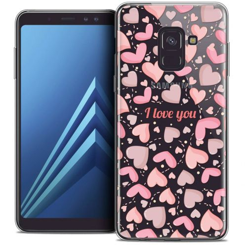 "Coque Crystal Gel Samsung Galaxy A8+ (2018) A730 (6.0"") Extra Fine Love - I Love You"