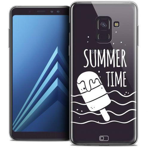 "Carcasa Crystal Gel Extra Fina Samsung Galaxy A8+ (2018) A730 (6.0"") Summer Summer Time"