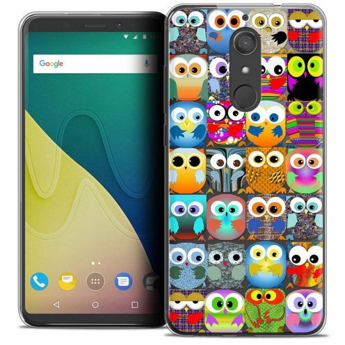 """Coque Crystal Gel Wiko View XL (5.99"""") Extra Fine Claude - Hibous"""