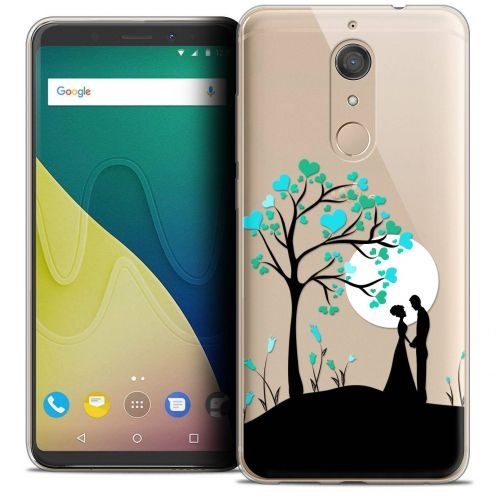 """Coque Crystal Gel Wiko View XL (5.99"""") Extra Fine Love - Sous l'arbre"""