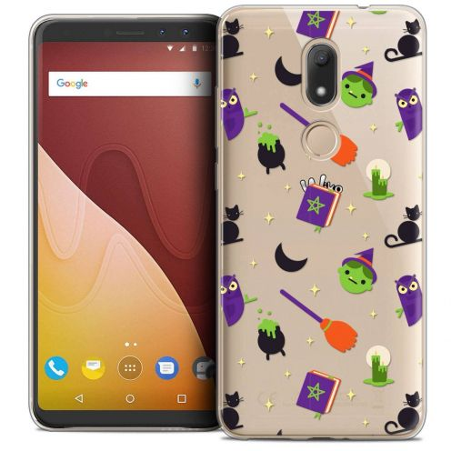"""Coque Crystal Gel Wiko View PRIME (5.7"""") Extra Fine Halloween - Witch Potter"""