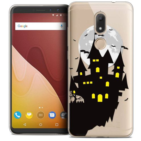 """Coque Crystal Gel Wiko View PRIME (5.7"""") Extra Fine Halloween - Castle Dream"""