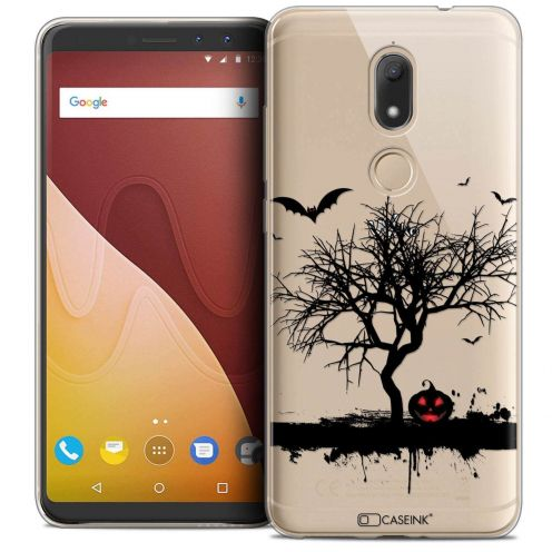 """Coque Crystal Gel Wiko View PRIME (5.7"""") Extra Fine Halloween - Devil's Tree"""