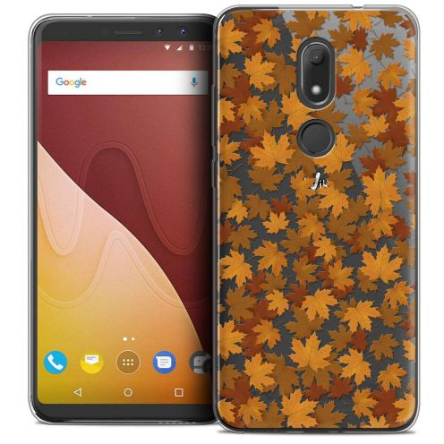 """Coque Crystal Gel Wiko View PRIME (5.7"""") Extra Fine Autumn 16 - Feuilles"""