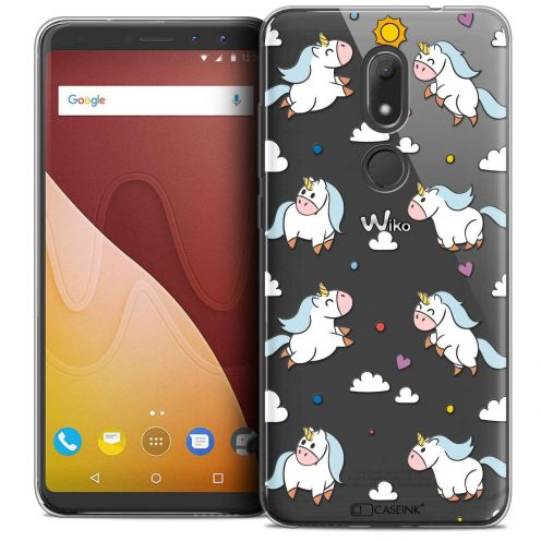 """Coque Crystal Gel Wiko View PRIME (5.7"""") Extra Fine Fantasia - Licorne In the Sky"""