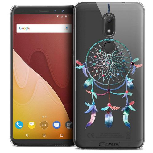 """Coque Crystal Gel Wiko View PRIME (5.7"""") Extra Fine Dreamy - Attrape Rêves Rainbow"""