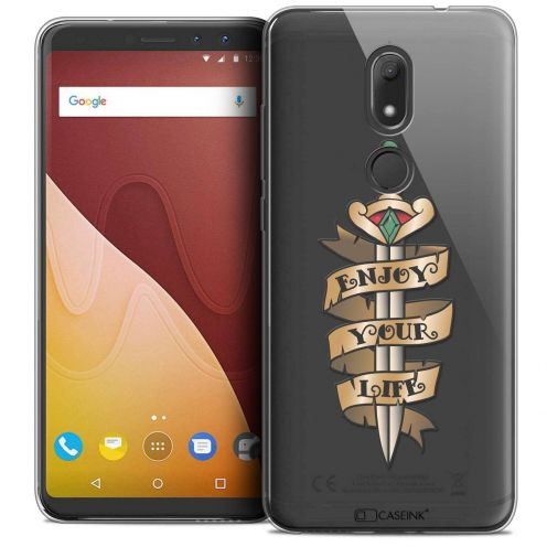"""Coque Crystal Gel Wiko View PRIME (5.7"""") Extra Fine Tatoo Lover - Enjoy Life"""