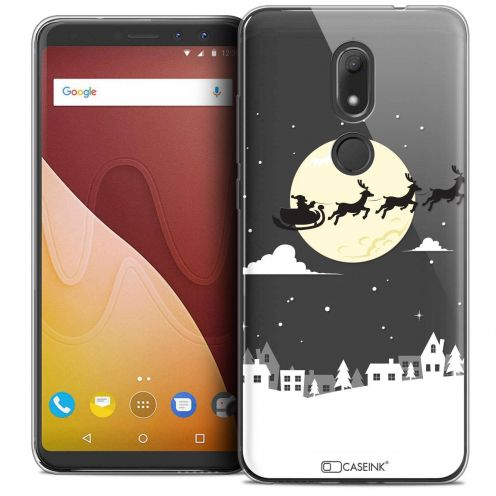 """Coque Crystal Gel Wiko View PRIME (5.7"""") Extra Fine Noël 2017 - Flying Stanta"""
