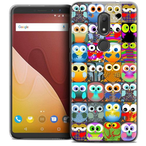 """Coque Crystal Gel Wiko View PRIME (5.7"""") Extra Fine Claude - Hibous"""