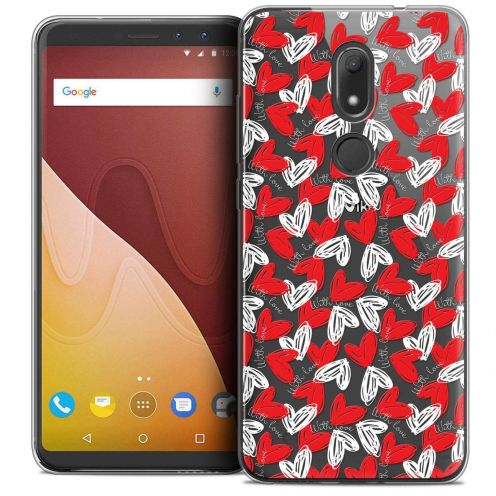 """Coque Crystal Gel Wiko View PRIME (5.7"""") Extra Fine Love - With Love"""