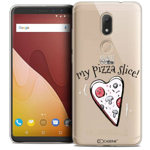 """Coque Crystal Gel Wiko View PRIME (5.7"""") Extra Fine Love - My Pizza Slice"""