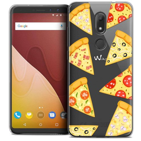 "Coque Crystal Gel Wiko View PRIME (5.7"") Extra Fine Foodie - Pizza"