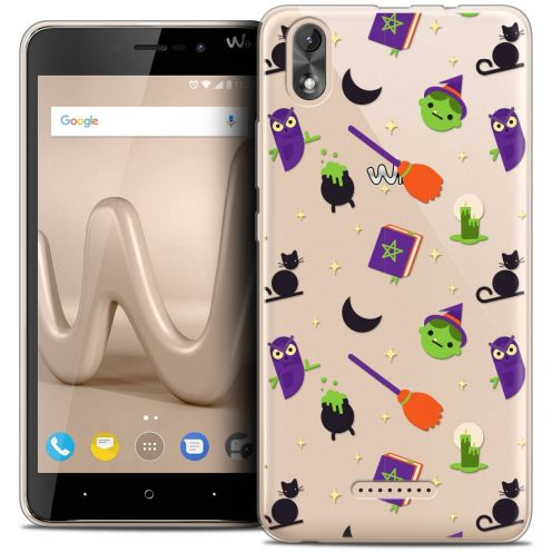 """Coque Crystal Gel Wiko Lenny 4 PLUS (5.5"""") Extra Fine Halloween - Witch Potter"""