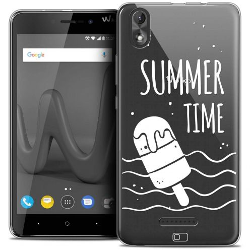 "Carcasa Crystal Gel Extra Fina Wiko Lenny 4 PLUS (5.5"") Summer Summer Time"