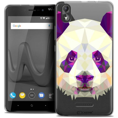"Carcasa Crystal Gel Extra Fina Wiko Lenny 4 PLUS (5.5"") Polygon Animals Panda"