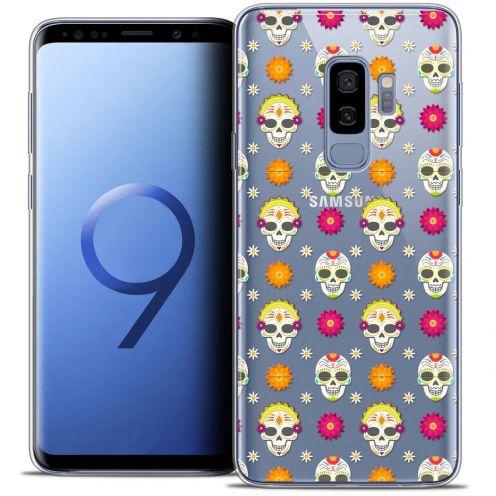 """Coque Crystal Gel Samsung Galaxy S9+ (6.2"""") Extra Fine Halloween - Skull Halloween"""